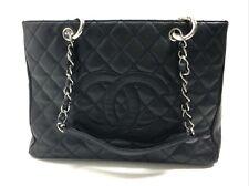 Chanel Gst Grand Shopper Black Tote Bag