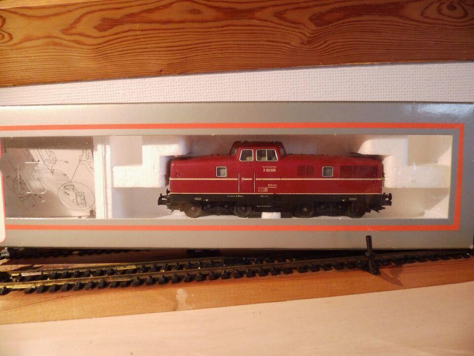 Modeltog, LIMA DB rangerlokomotiv, skala HO