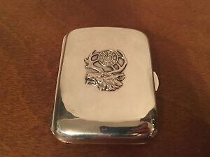 Antique-Sterling-Silver-BPOE-Elks-Lodge-Cigarette-Case
