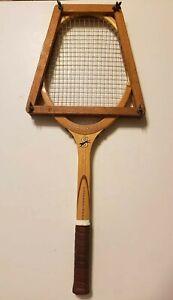 Vintage-Slazenger-Light-Professional-Wood-Tennis-Racquet-4-3-8-England
