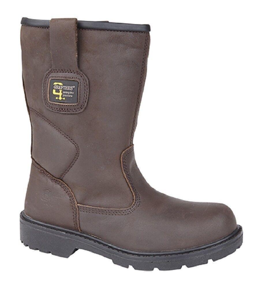 Grafters M560b da men Industriale Impermeabile Stivali di Sicurezza