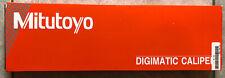 Mitutoyo 500 754 20 12 Digimatic Digital Caliper Ip67 No Spc New