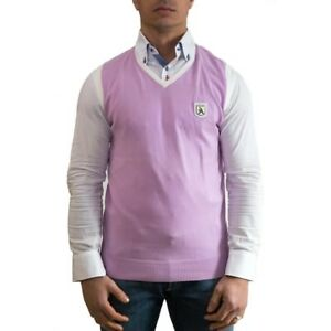 A-Style-Gilet-Uomo-Col-Rosa-tag-varie-38-OCCASIONE