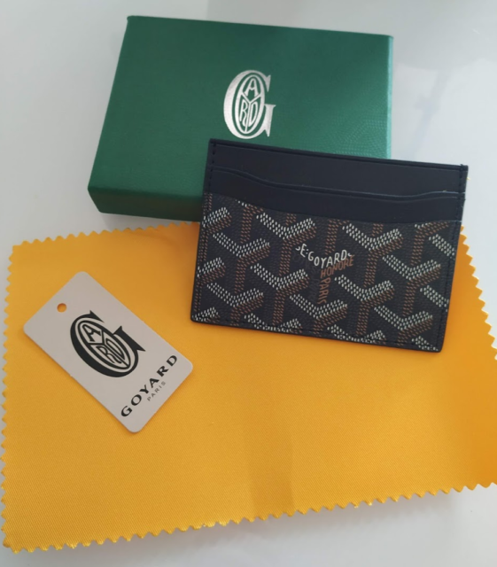 Goyard Saint Sulpice Card Holder Black