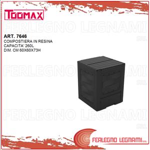 Composta 260LT cm 60X60X73H Toomax ART.7646