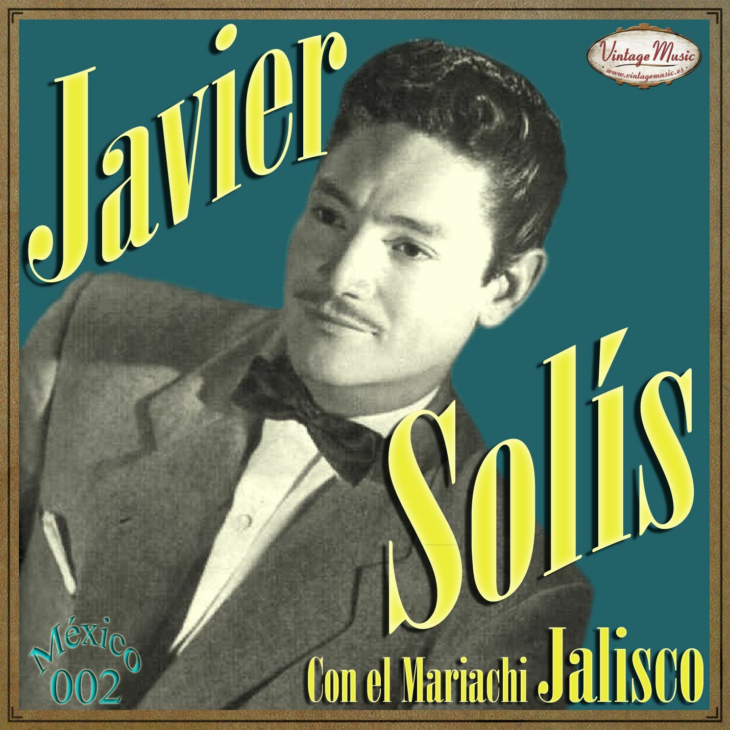 JAVIER SOLIS - JAVIER SOLIS Mexico Collection CD 2 Bolero Cancion Mariachi Jalisco. Ya No Me Quieres - CD