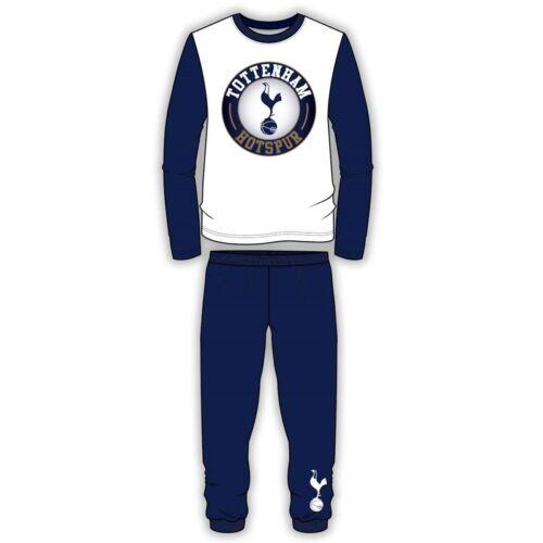 Garçons Filles Enfants Tottenham Hotspur Pyjamas Pjs NIGHTWEAR coton à manches longues