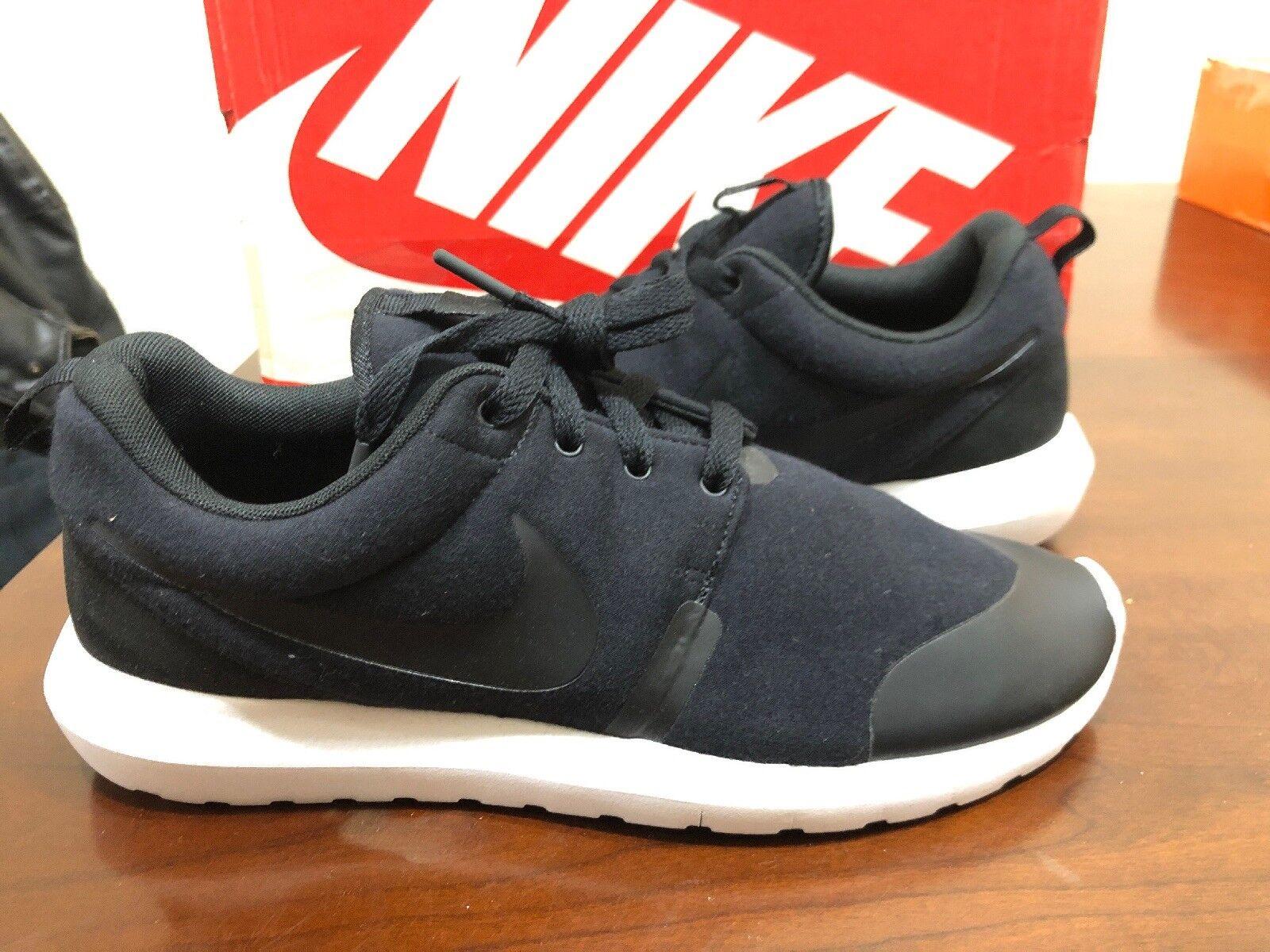 Nike Roshe NM TP Tech Fleece Pack Black 749658 001 Men's Size 9 New Ds Trophy