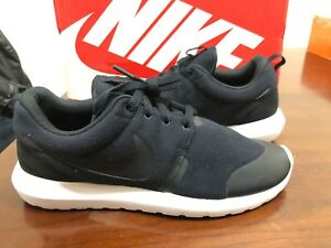 separation shoes 50b0e ad2e2 Image is loading Nike-Roshe-NM-TP-Tech-Fleece-Pack-Black-