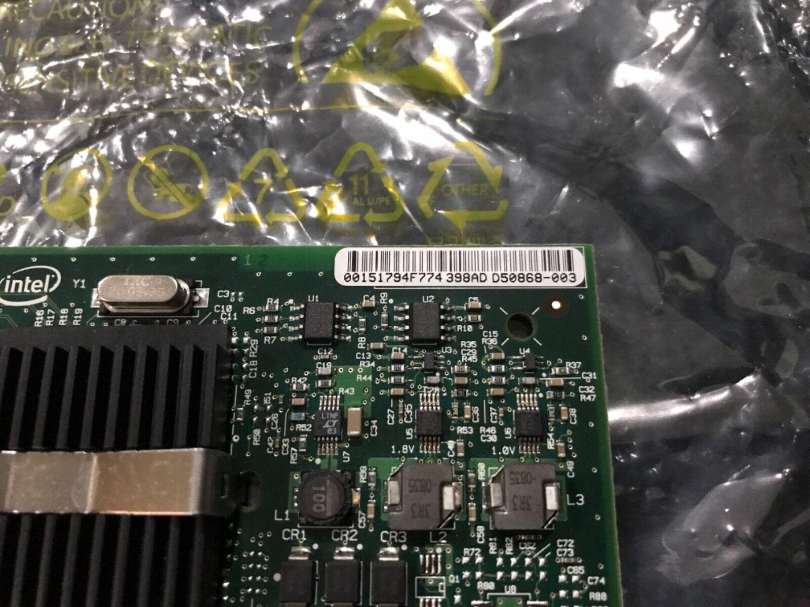 (2) Intel PRO/1000 High Profile Dual Port PCI-E Ethernet Network Card D49919-002