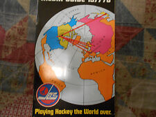 1977-78 WINNIPEG JETS MEDIA GUIDE Yearbook WHA CHAMP Hockey Coyotes 1978 Book AD