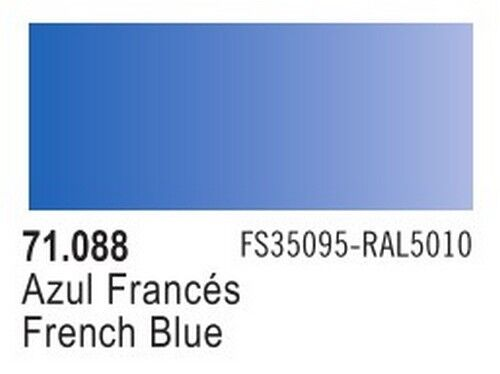 Vallejo Model Air Paint French Blue 17ml 71088