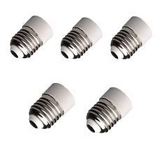 5×E27 A E14 Base LED Luz Lámpara Bombilla Adaptador Convertidor Tornillo Enchufe