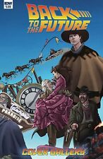 BACK TO THE FUTURE COVER GALLERY IDW NM Comic - Vault 35