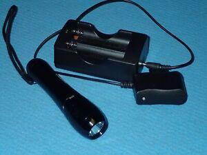 LED UV-Licht Taucherlampe mit Lithium-Ionen Akku, §