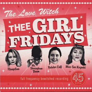 THEE-GIRL-FRIDAYS-The-Love-Witch-vinyl-7-034-EP-garage-punk-fuzz-beat-Thanes