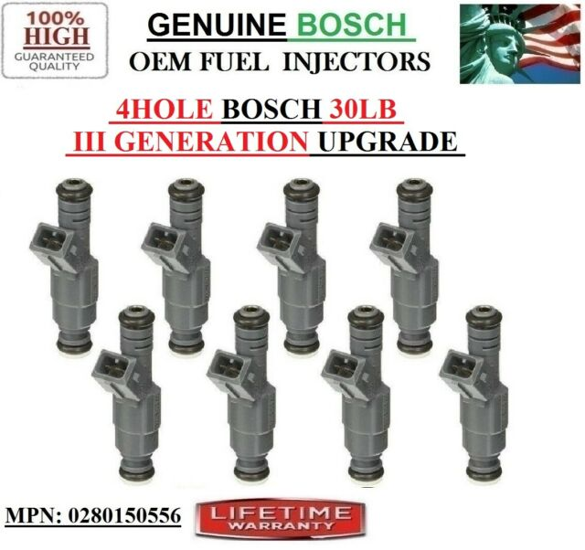 8X OEM Bosch III Fuel Injectors for 1996-2004 Ford Mustang 4.6L V8 24Lb