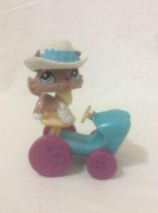 Littlest-Pet-Shop-1330-Collie-Puppy-Dog-amp-Tractor-Accessories