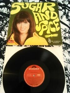 THE JUMPING JACQUES - SUGAR AND SPICE LP / RARE ORIGINAL POLYDOR CANADA SCAT