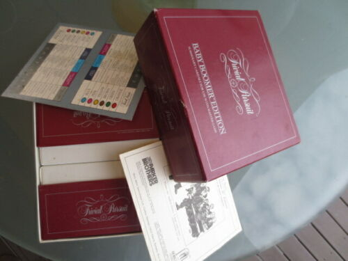 TRIVIAL PURSUIT BABY BOOMER EDITION SUBSIDIARY CARD SET TO USE WITH MASTER GAME