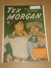TEX MORGAN #8 FN- (5.5) MARVEL COMICS NOVEMBER 1949