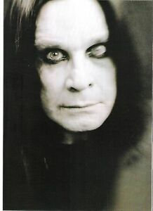 OZZY-OSBOURNE-039-evil-one-039-magazine-PHOTO-Poster-clipping-11x8-inches