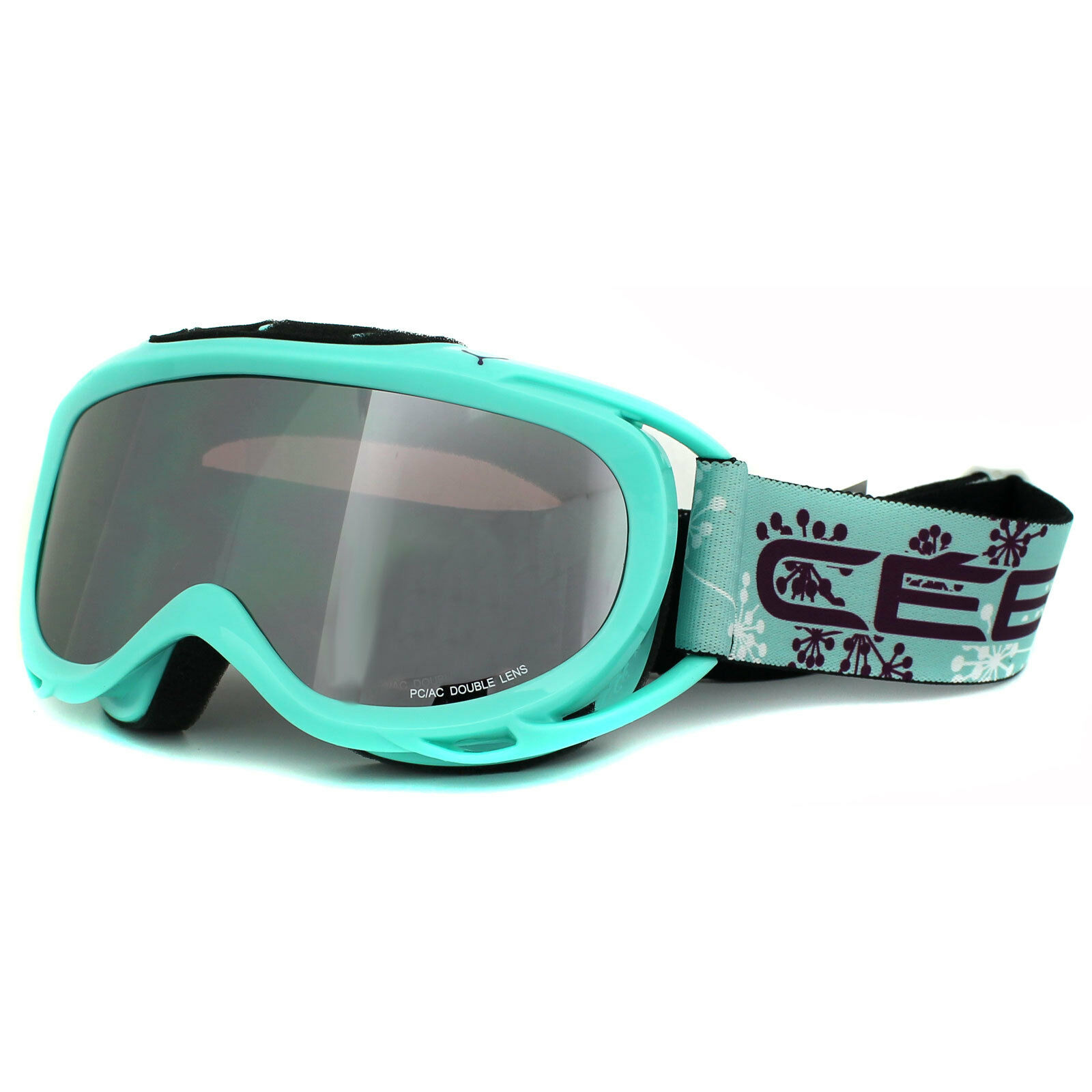 Cebe Ski Snow Goggles Verdict M 1565B009M Sky bluee Dark pink Flash Mirror