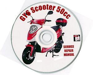 Details about Chinese Scooter 50cc GY6 Service Repair Shop Manual on CD  BASH BASHAN VIP TAOTAO