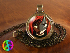 Anime Fairy Tail Erza Guild Marks Wing Pendant Necklace Jewelry Gift Cosplay