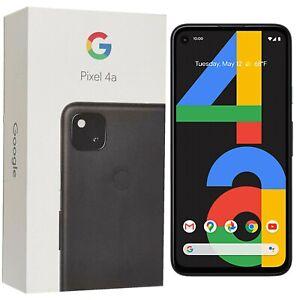 """Entièrement neuf dans sa boîte 5.7"""" Google Pixel 4 G020M 2019 128 Go juste Noir Débloqué 4 G SIMFree"""