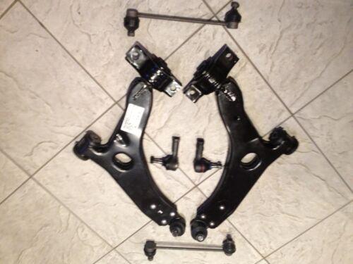 Ford Focus MK1 Zetec 98-04 Frontal Inferior Wishbone Brazos 2 enlaces /& 2 Track Rod Ends