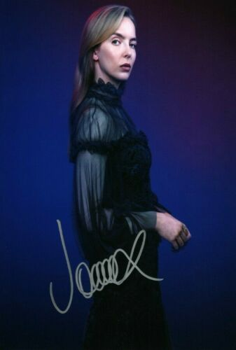 Jodie Comer Killing Eve Signed Autograph PRINT 6x4 gift