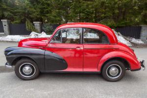 1952 Vintage Car Morris Minor