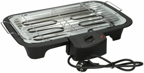 Barbecue Elettrico Tavolo Griglia Elettrica 2000w Bistecchiera Grill BBQ idea