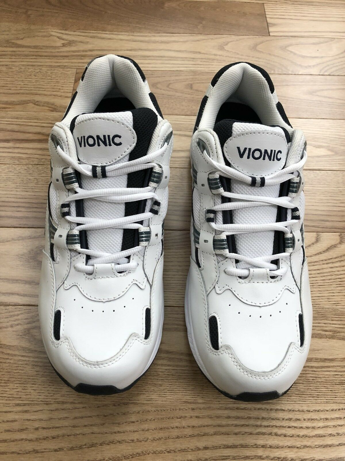 big sale 9ff75 5d5f6 Vionic Men s Men s Men s Walker WalkingWhite Navy Size 12 91e0a4