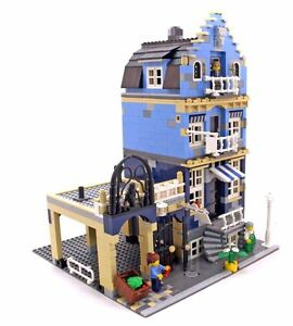 Market-Street-Modular-Building Blocks Toys 1275 Pcs New MOC 10190 DHL Delivery