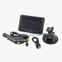 Black 4.3-inch Portable Vehicle Gps Navigation