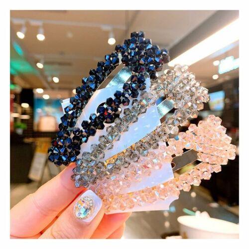 NEW Crystal Bead Hair Clip Hairband Comb Bobby Pin Barrette Hairpin Headdress