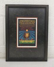 "Jimi Hendrix Experience Oct 10-11-12 Fillmore Concert Post Card Framed 11x14.5"""