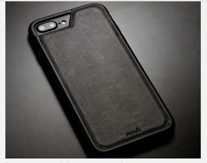 reputable site ed1e3 60d7d Details about Mous Protective AiroShock Black leather case fits APPLE  iPhone 6/7/8 PLUS