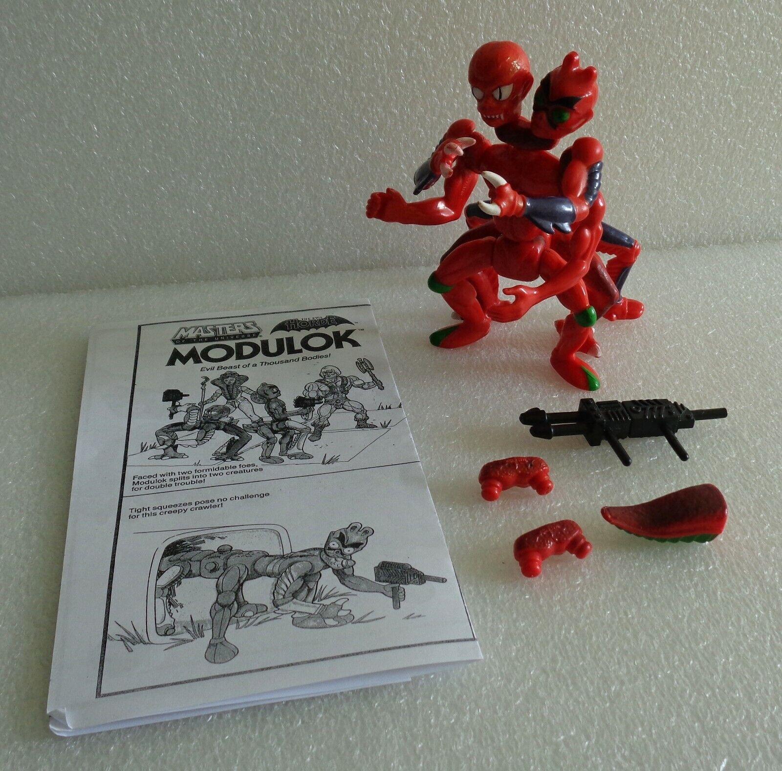 Vintage 1985 Los Amos Del Universo Amos del universo He-Man Modulok 100% mal horda