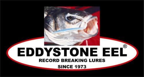 BASS FISHING LURES BEST IN THE WORLD EDDYSTONE EEL SANDEEL  BASS COD POLLACK