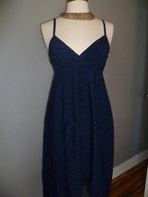 Forever 21,  Summer Beach Casual Empire Waist Spaguetti High Low Dress, SZ S