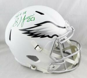 Brian-Dawkins-Signed-Eagles-F-S-Flat-White-Speed-Helmet-w-HOF-Beckett-Auth