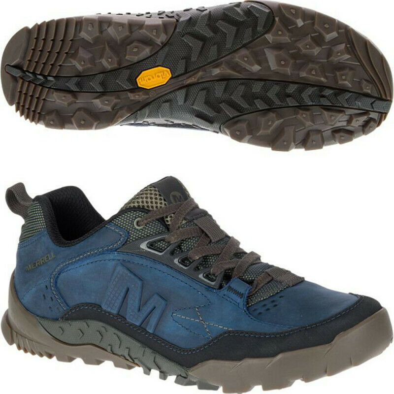 Mens Merrell Annex Trak Low Mens Walking  shoes - blueee  at the lowest price