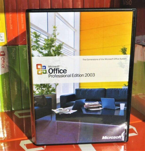Microsoft Office 2003 Professional For Sale