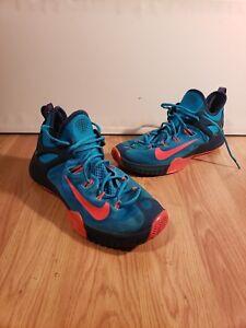 hot sale online dea5a 9d7b1 Image is loading Nike-Zoom-Hyperrev-2015-Mens-11-5-Blue-