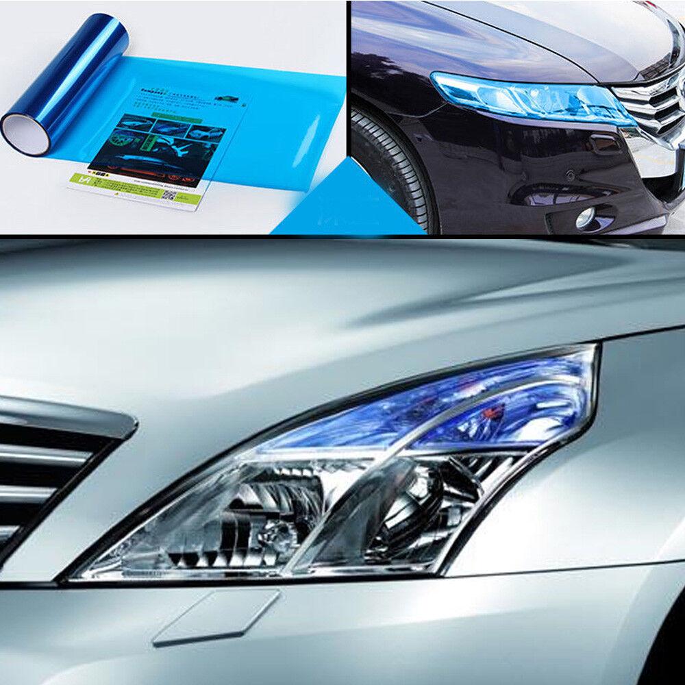 Car Headlight Taillight Fog Light Sticker Tint Protector Film Vinyl Wrap Decals 3