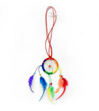 Pride Shack - Lesbian and Gay Pride Rainbow Dream Catcher Necklace. LGBT Jewelry