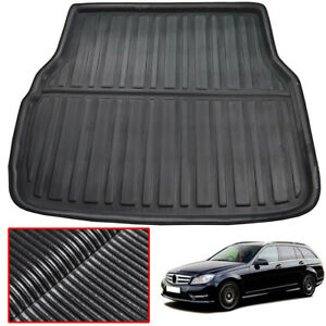Details about For BENZ C-Class W204 W205 S205 ESTATE Wagon Car Cargo Liner  Boot Tray Trunk Mat